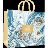 Пакет бумажный «Лазурный берег голубой», 1шт