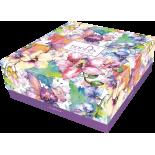 Коробка подарочная «Цветы», 1шт