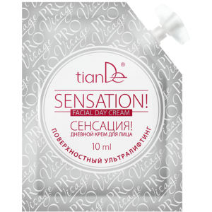 Дневной крем для лица «Сенсация», 10мл - Скидка 20%
