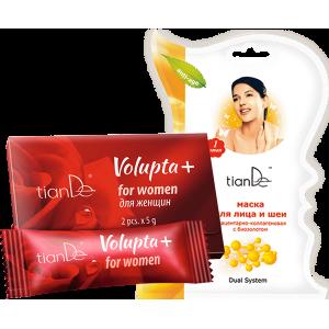 Volupta+ для женщин, 2шт.x5г + Подарок!