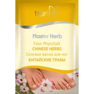 Солевая ванна для ног «Китайские травы», 50г
