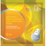 Омолаживающая маска для лица и шеи «Коэнзим Q10», 1шт